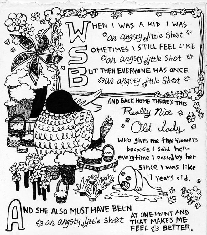 Angsty Shit - illustration, penink - kshin | ello