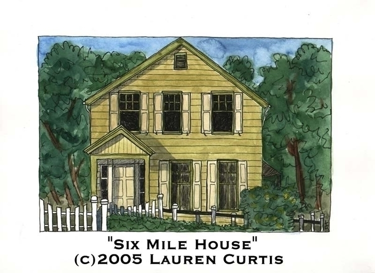 Mile House watercolor commissio - laurencurtis | ello