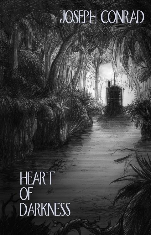 'Heart Darkness' Cover Design - bookcover - willcartwright | ello