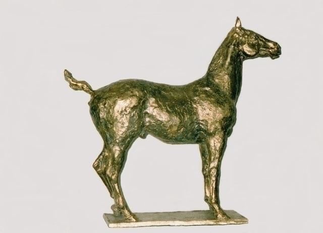 RACING HORSE - sculpture, 3dart - barakesculptor | ello