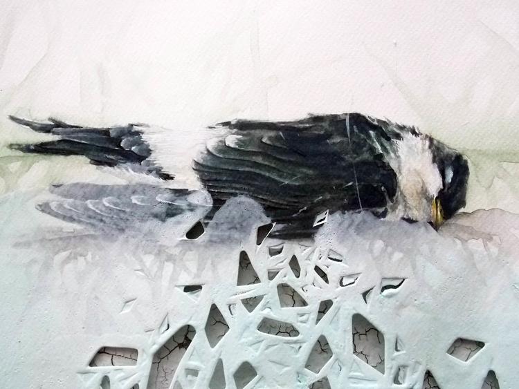 aquarelle paper aprox 35X25cm D - saritaboomerangdecor | ello
