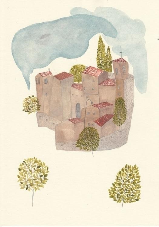 paper, watercolor, illustration - spoto | ello