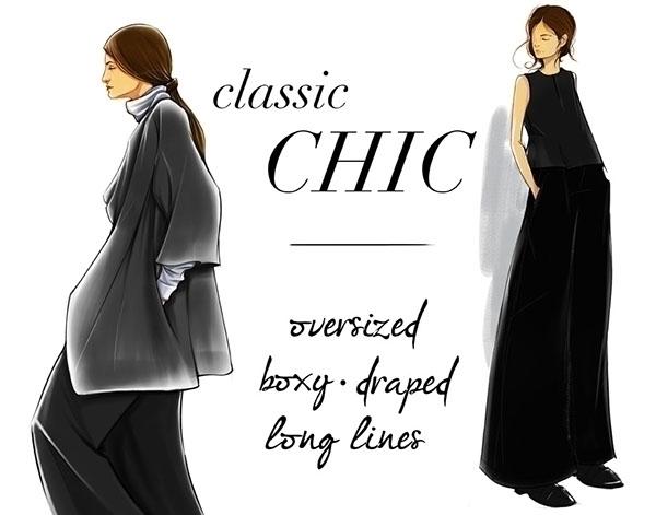 Classic Chic - portrait, fashion - evensillustration | ello