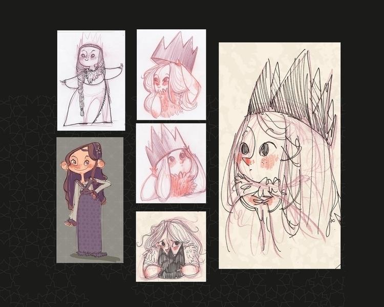 Visual development Robin Hood - katiagrifols,robinhood,visualdevelopment,conceptart,characterdesignillustration,princess,environment, - katiagrifols | ello
