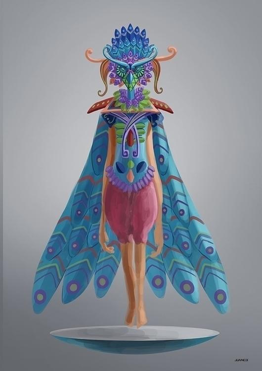 BIRDS - drawing, conceptart, characterdesign - juanco-1165   ello
