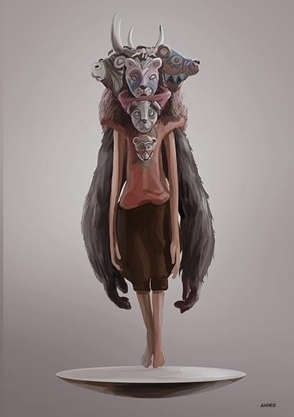 FAUNA - drawing, conceptart, characterdesign - juanco-1165 | ello