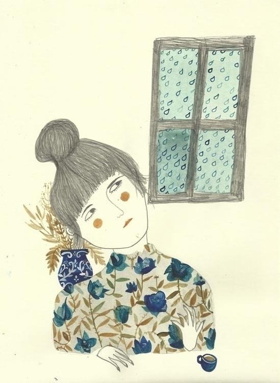haiku, watercolor, drawing, illustration - spoto | ello