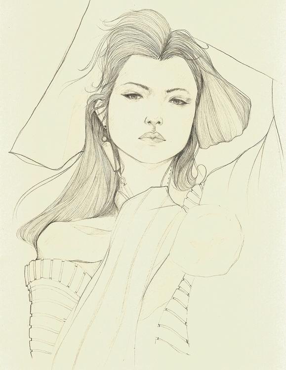 Fashion Illustration - ink, paper - evensillustration | ello