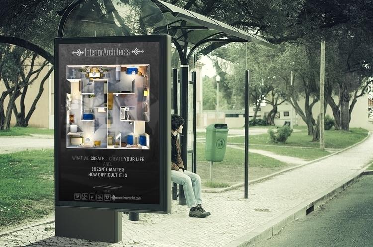 #interior#adverts#typography# - mndesign | ello