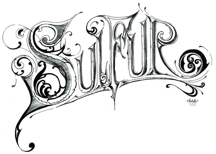 Sulfur (commission) Ink - illustration - michellecortazar10 | ello