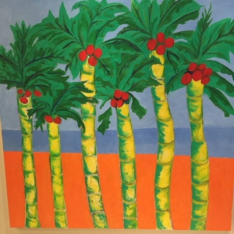 Palm trees Buenaventura - oyanguren510 | ello