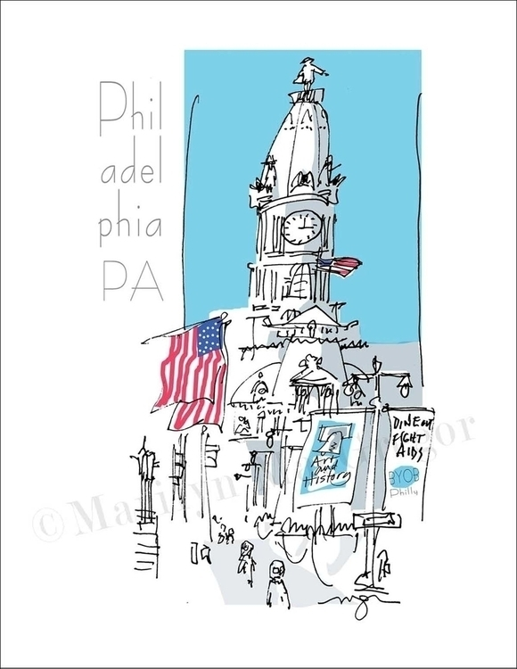 City Hall, Philadelphia - art p - macgregorart | ello