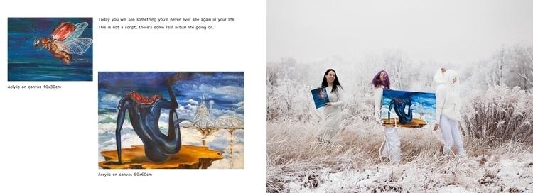 portfolio, artbook, surreal, oksin - oksin | ello