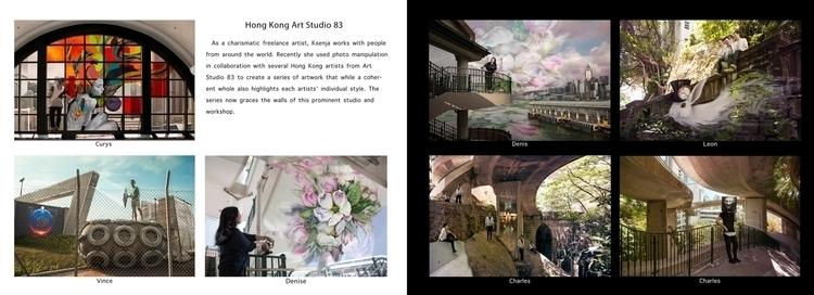 artbook, portfolio, ksenjaoksin_art - oksin | ello