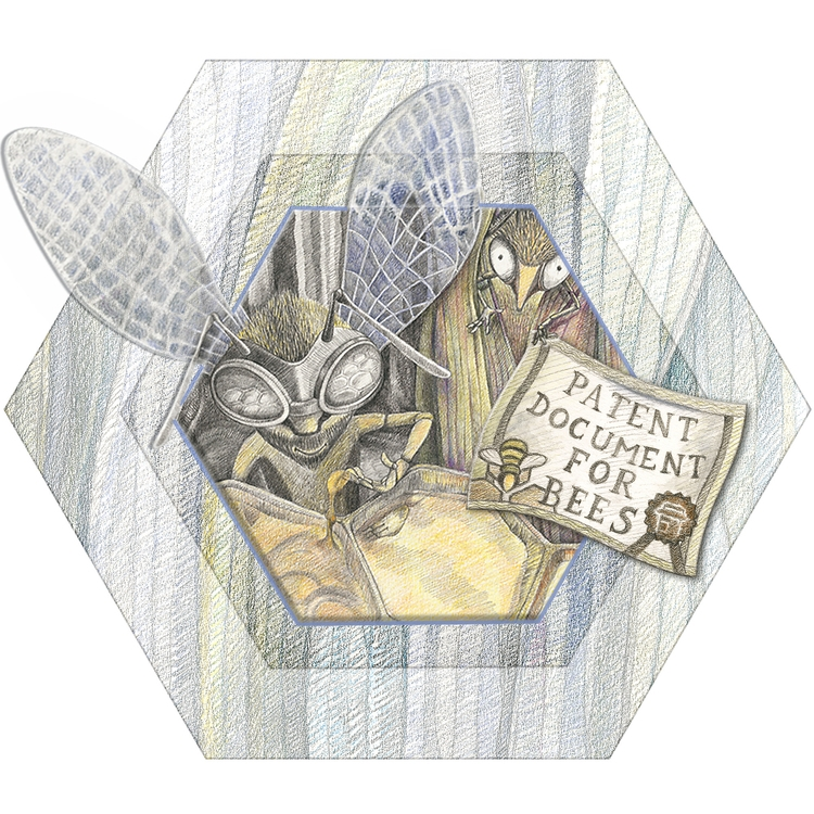 Hornets Bees (La Fontaine Tales - aja007 | ello