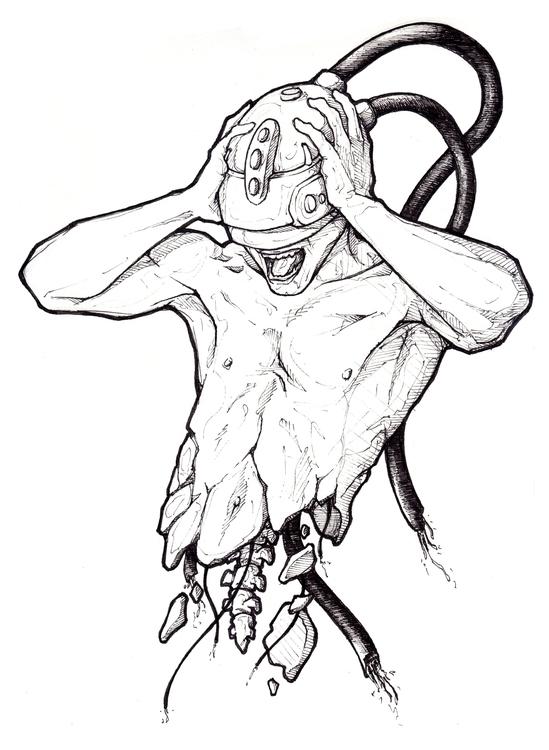 Delete-Rious - drawing, mind - 3zeta | ello