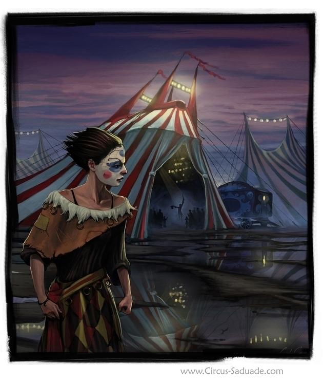 Circus - circus, circussaudade, saudade - ccampbellart | ello