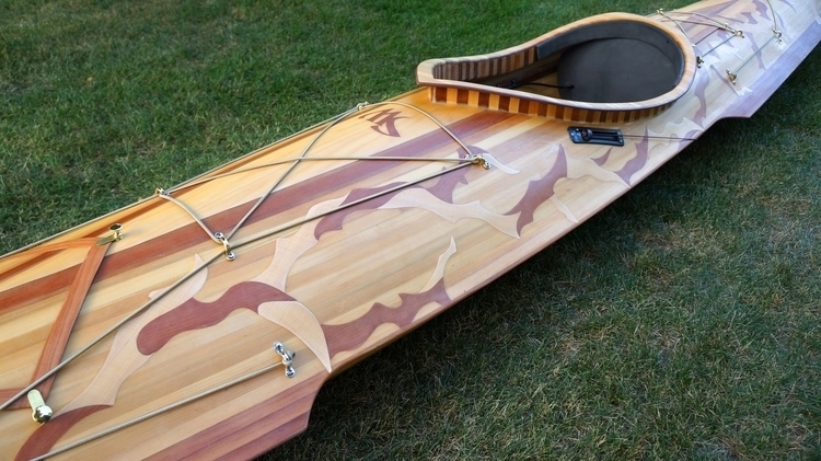 Surf Wing Kayak - cedar strip c - waubrey | ello