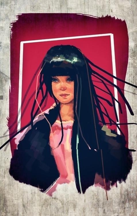 Princess Pink - drawing, conceptart - scintilla-1017   ello