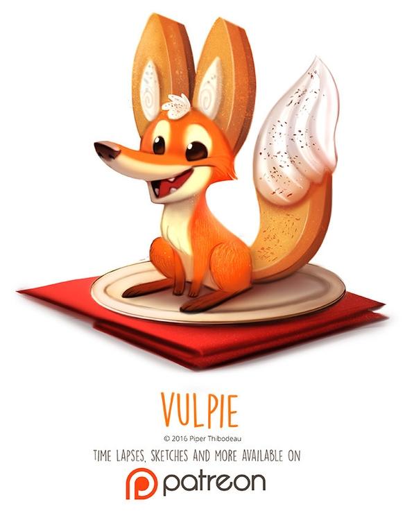 Day 1413. Vulpie - piperthibodeau | ello