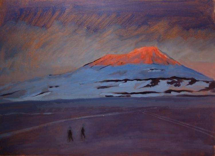 Chasing Light - oilpainting, landscape - ccampbellart | ello