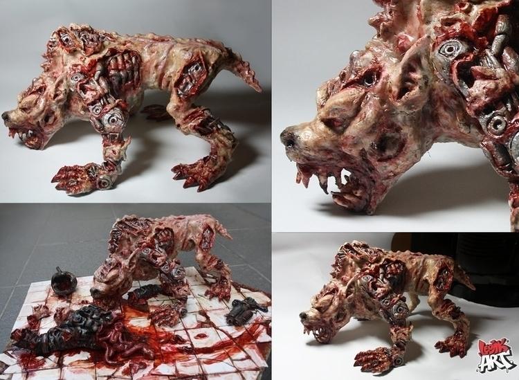 Cyberwolf - sculpture - legik | ello