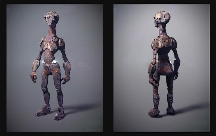 Alien scout - alien, characterdesign - cnever | ello