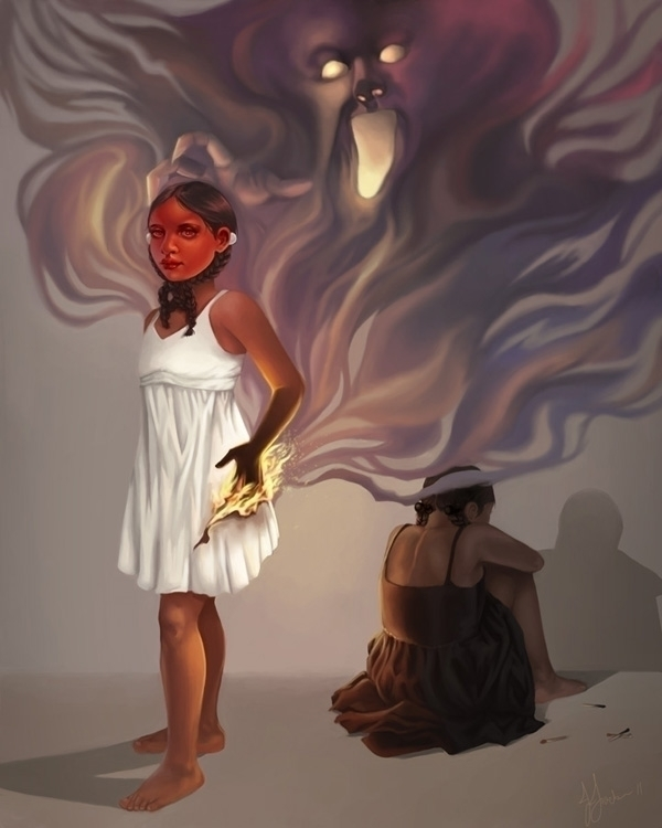 Playing 2011 - Digital - illustration - jjacks | ello
