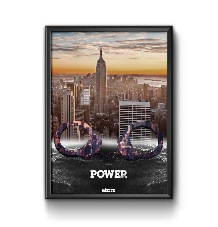 Power Poster - #power, #series, #starz - ericmadiadia | ello