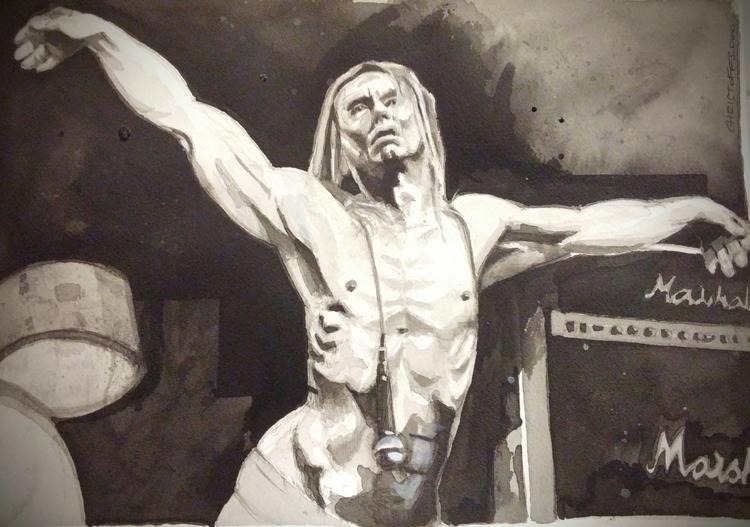 illustration, penink, portraitillustration - christoff3000-1340   ello