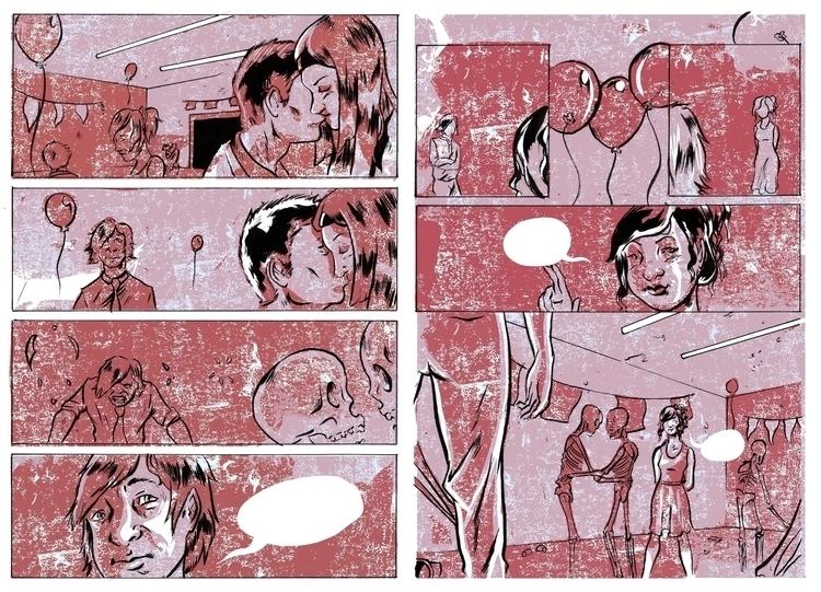 comics, print, illustration, drawing - jjscottillustration | ello
