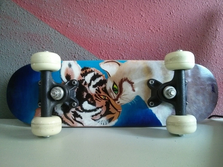 Cross Breeds - skateboard, deck - dangerouscute | ello