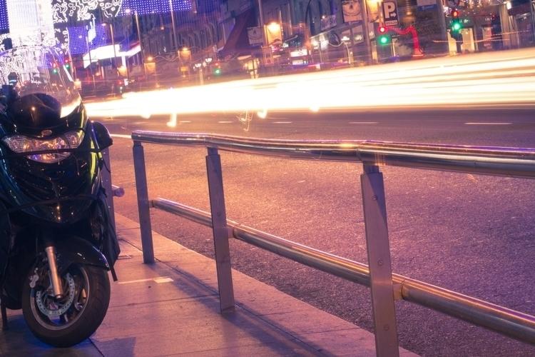 Madrid Nighlights - #madrid, #bike - ericmadiadia | ello