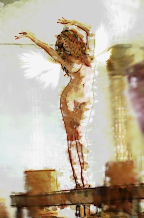 Fairy Dancer - fantasy, fairy, figuredrawing - rpoling | ello