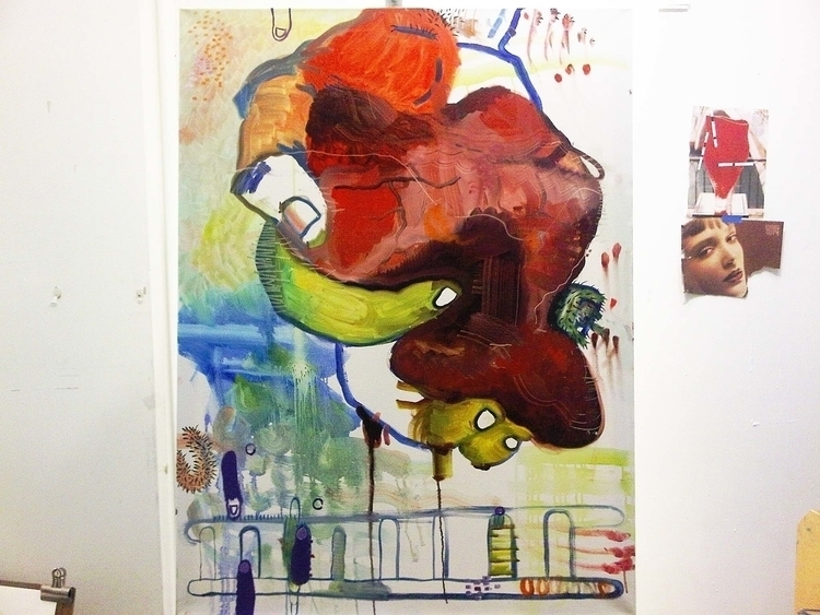 Heart Grip Painting - oilpainting - irenastanisic   ello
