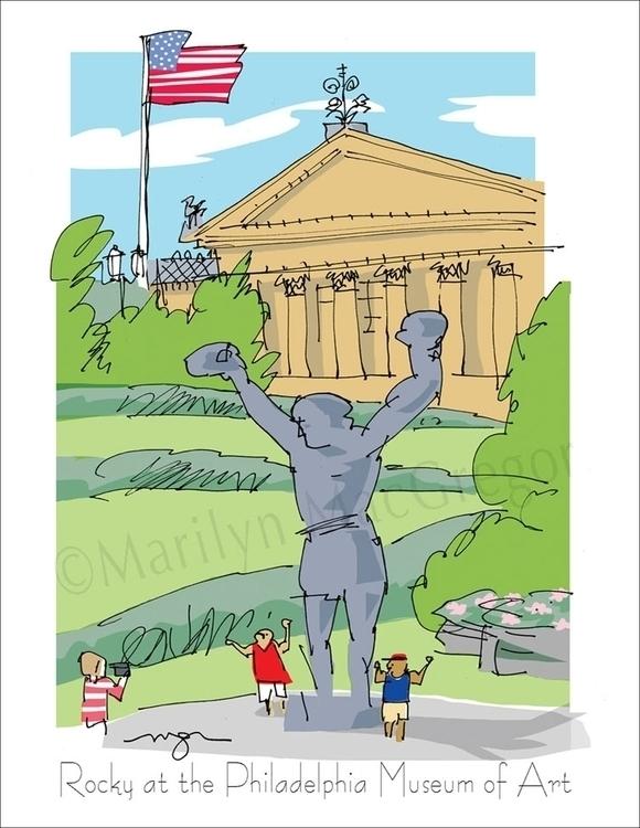 Rocky Philadelphia Museum - art - macgregorart | ello
