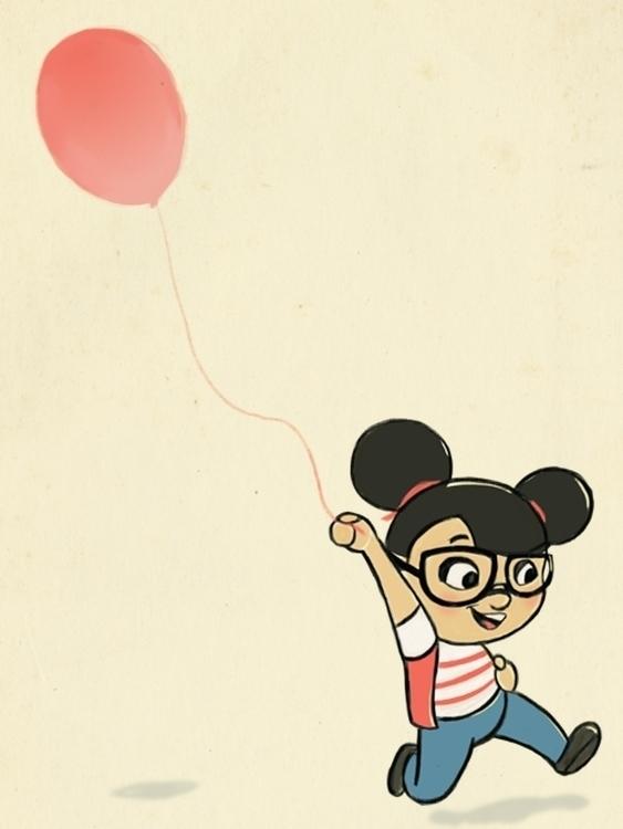 laisita, balloon, sketch - laisita19 | ello