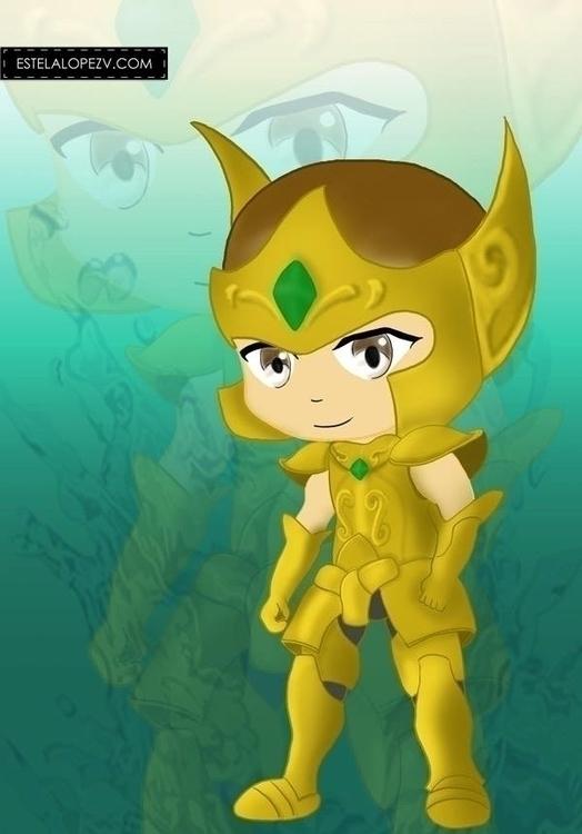 Aquarius - aquarium, saintseiya - stelalo | ello