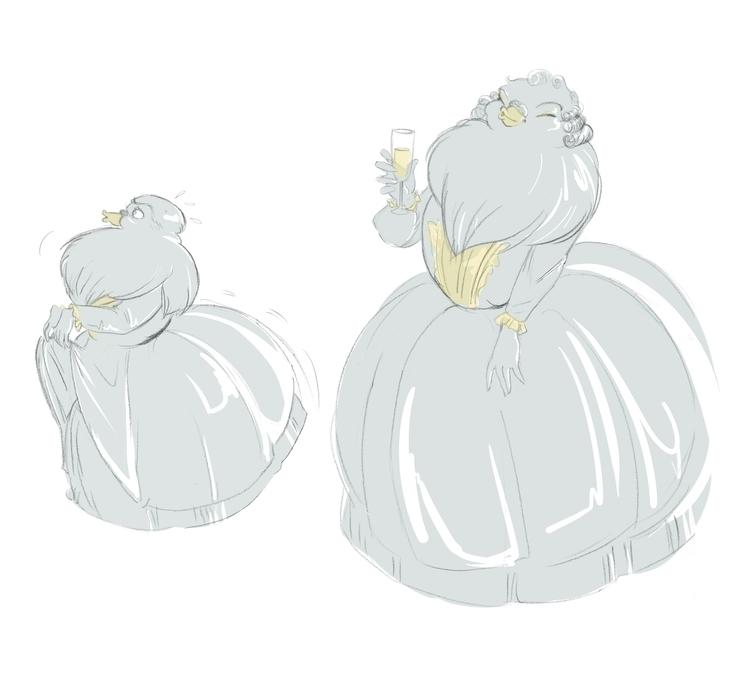 Character design - Rou, bird la - clarisse-1174 | ello