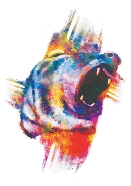 put artistic Roaring Bear, Hope - victoriuskendrick | ello