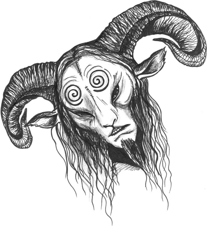 Mysterious character dark fanta - lukowkina | ello