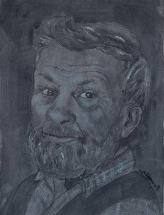 Luciano 30x40 cm acrylic canvas - tizianagiammetta | ello