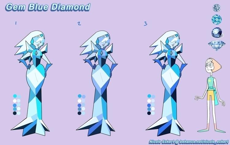 Latest Gemsona, Blue Diamond, c - eckertainment   ello