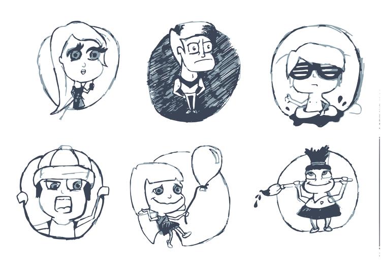 Character Design // Welma Desig - welmasykes | ello