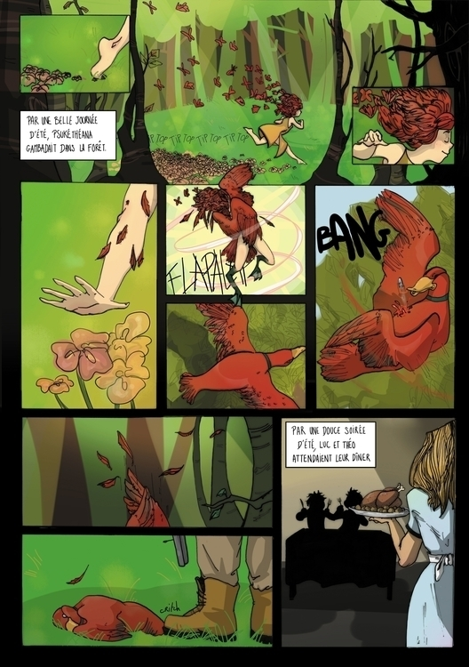 complete comic page. beautiful  - clarisse-1174 | ello