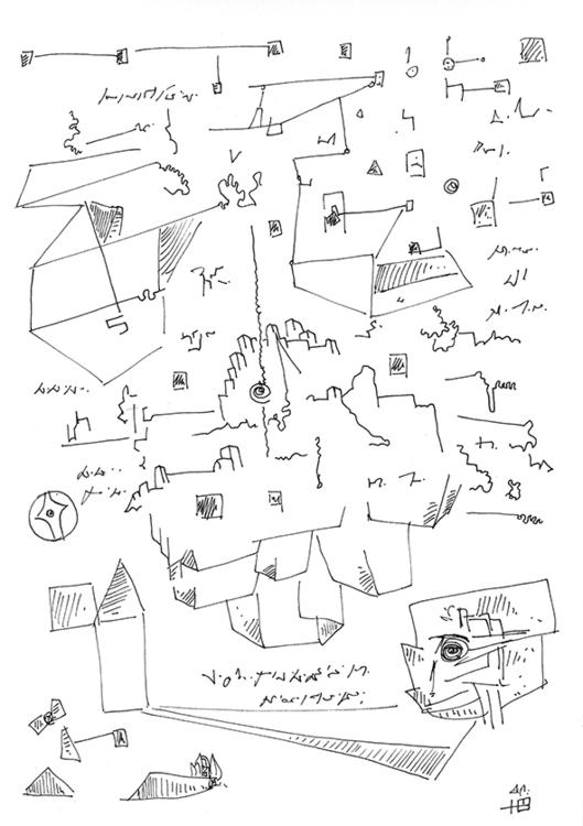 illustration, drawing, abstract - hoenal   ello