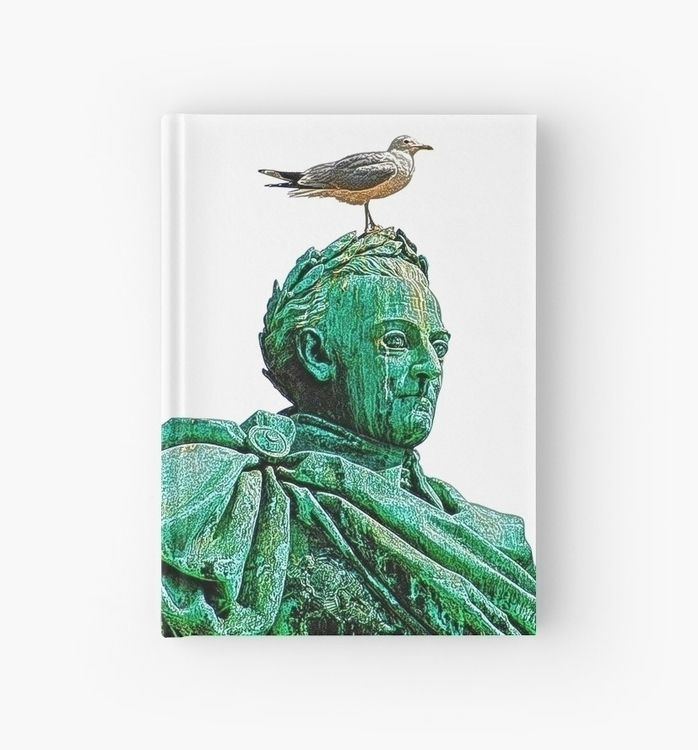 Segull head statue king Charles - leo_brix | ello
