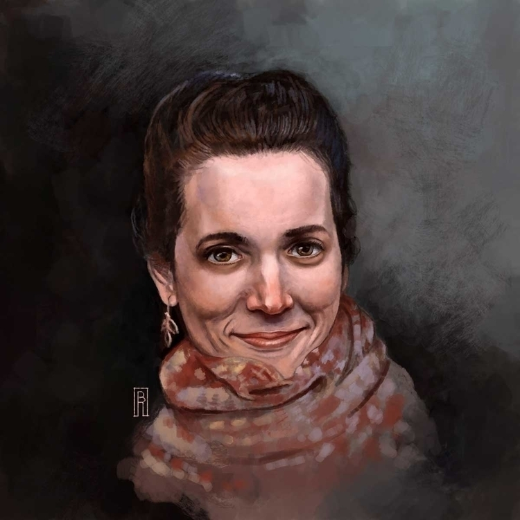 Portrait - illustration, painting - boris_rogozin | ello