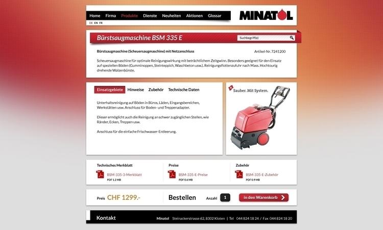 Minatol Shop - webdesign, webdesign - mason-1288 | ello