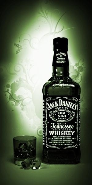 Jack Daniels - 3d, 3dmodel, blender - dzymator | ello